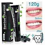 Maybeau Dentifrice au Charbon de Bambou 120g pâte blanchiment pour les dents anti tartre