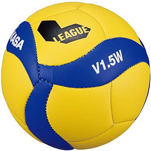 ミカサ(MIKASA) 記念品用マスコットボール・サインボール(バレー) 【Vリーグバージョン】V1.5W-V 黄/青