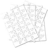 color blanks - Inovart Puzzle-It 28-Piece Blank Puzzle, 24 Puzzles Per Package, 5-1/2