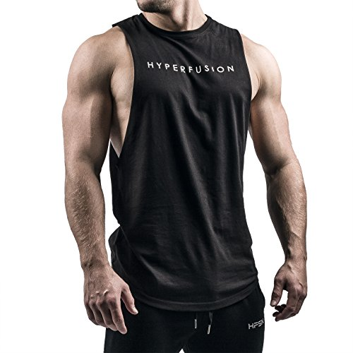 Hyperfusion Phantom Cut Off Tank Top Herren Shirt Gym Fitness (L)