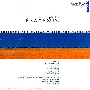 Bračanin: Concertos For Guitar, Violin And Clarinet
