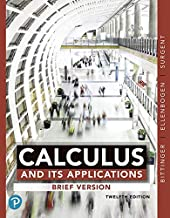 Calculus and Its Applications: Brief Version (12th Edition)