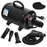 ZENY Dog and Cat Pet Grooming Hair Dryer 2 Speed...