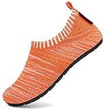 SAGUARO Zapatillas de Estar por Casa para Niños Zapatillas Casa Niñas Zapatos Infantiles Bebé Caminan Zapatillas Suela Antideslizante Suave Naranja Gr.36/37