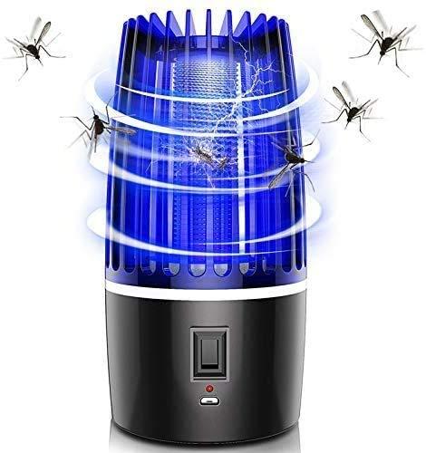 GYLEJWH Moskito-Killer-Lampe, Zapper Insektenvernichter Mit Fliege Killer-Lampe, UV-LED Lichtfalle Kann Im Innen- Und Außenbereich (Mit 4000 Mah Akku) Verwendet Werden