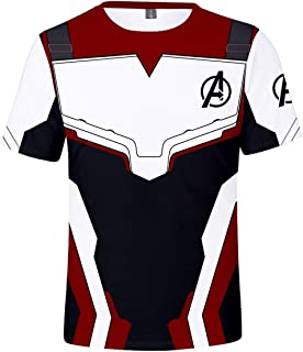 Avengers Endgame Film Superhero Impresión 3D Camiseta Quantum T-Shirt