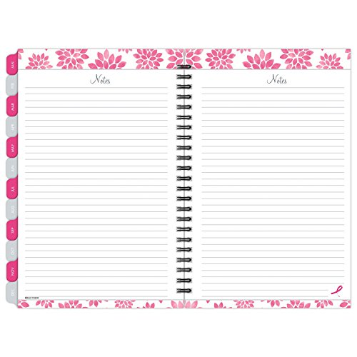 "Day-Timer Weekly / Monthly Appointment Book / Planner 2017, 5-1/2 x 8-1/2"", Pink Ribbon (88864) Photo #5"