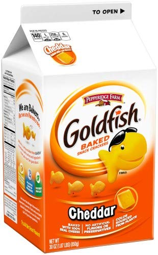 Pepperidge Farm Japan's largest assortment Goldfish Cheddar of Ranking TOP13 Crackers 6 Pack