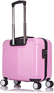 Trolley Case Super Lightweight ABS Hard Shell Travel Carry On Cabin Hand Luggage Suitcase with 4 Wheels, Flight Approved Wheeled Cabin Bag, Expandable Travel Luggage, The Perfect Cabin Size for Most A