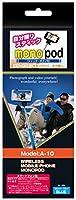 東京企画販売 自分撮りスティック MONOPOD(シャッター内蔵) ブルー 【技適マーク取得商品】 ZK-12BL