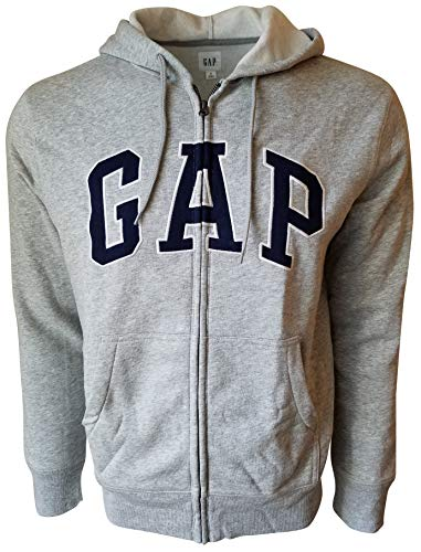 Gap Herren Fleece Arch Logo Full Zip Hoodie -  Mehrfarbig -  X-Large