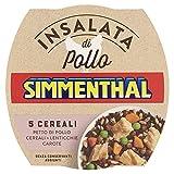 simmenthal - 5 cereali: insalata di petto di pollo con 5 cereali e verdure selezionate, 1 lattina da 160 gr