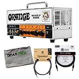 Orange Rocker 15 Terror 15-watt Tube Guitar Amplifier Head Bundle w/Cables and