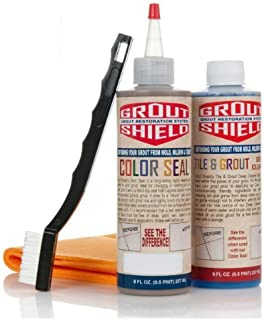 Grout Shield Grout Restoration System-(Standard Dove Gray)