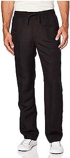 SANFASHION 2020 Newest Mens Trousers Casual Pants Pocket Elasticated Waist Drawstrings Slim Fit Stretch Spring Summer Autu...