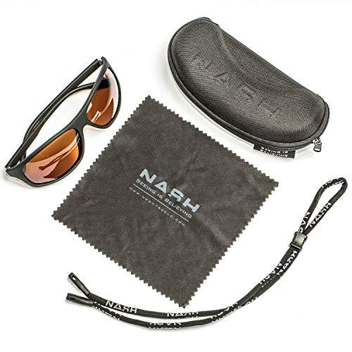 Nash Amber Wraps C3008 Polbrille Brille Sonnenbrille Polarisationsbrille