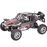 DBXMFZW 1/18 Scale Off-Road Control Remoto Toy Toy, Vehículo de RC de Drift Electric 4WD Desierto, Coche RC de escalada de alta velocidad con luces LED, Camiones recargables, Regalos para niños y niña