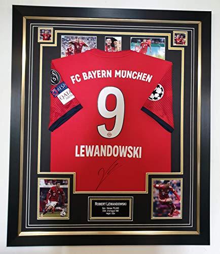 Robert Lewandowski Signiertes Shirt Autogramm Trikot