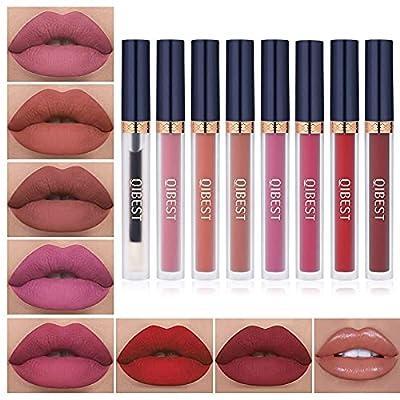 8pcs Matte Liquid Lipstick