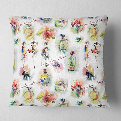 Design Art Throw Pillow, Polyester, x 18 in