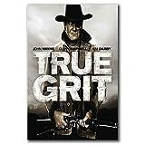 DNJKSA John Wayne Western True GRIT Film SELTENE Kunst