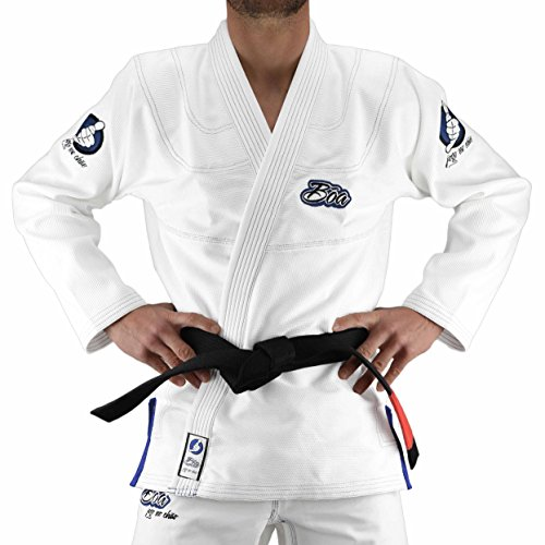 Bõa Jo No Chao Kimono de jiu Jitsu para Hombre, Hombre, Color Blanco, tamaño Medium