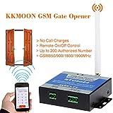 KKmoon KSG6897267103219LN GSM Abridor de Puerta Control Remoto On/Off Llamada y SMS Gratuita, Soporta 850/900/1800/1900MHz