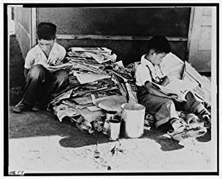Photo: 1942 Fresno Assembly Center - Japanese Internment Camp 1 . Size: 8x10 (approximately)