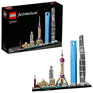 LEGO Architecture Shanghai 21039, Skyline Collection, Building Bricks (B075H1XL8Y) | Amazon price tracker / tracking, Amazon price history charts, Amazon price watches, Amazon price drop alerts