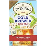 Twinings English Classic Cold Brewed Tea - 20 Count (2 Pack)