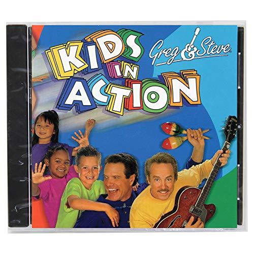 Greg & Steve Productions YM-017CD Greg & Steve: Kids In Action CD