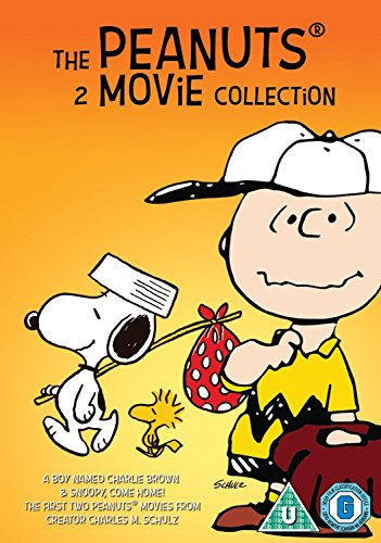 The Peanuts - 2 Movie Collection: Snoopy Come Home & A Boy Named Charlie Brown [DVD] [UK Import]