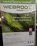 Webroot SecureAnywhere Internet Security Complete - 5 Devices (2012)
