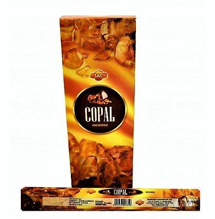 Incienso Sac - Copal - 6 cajas de 20 varillas