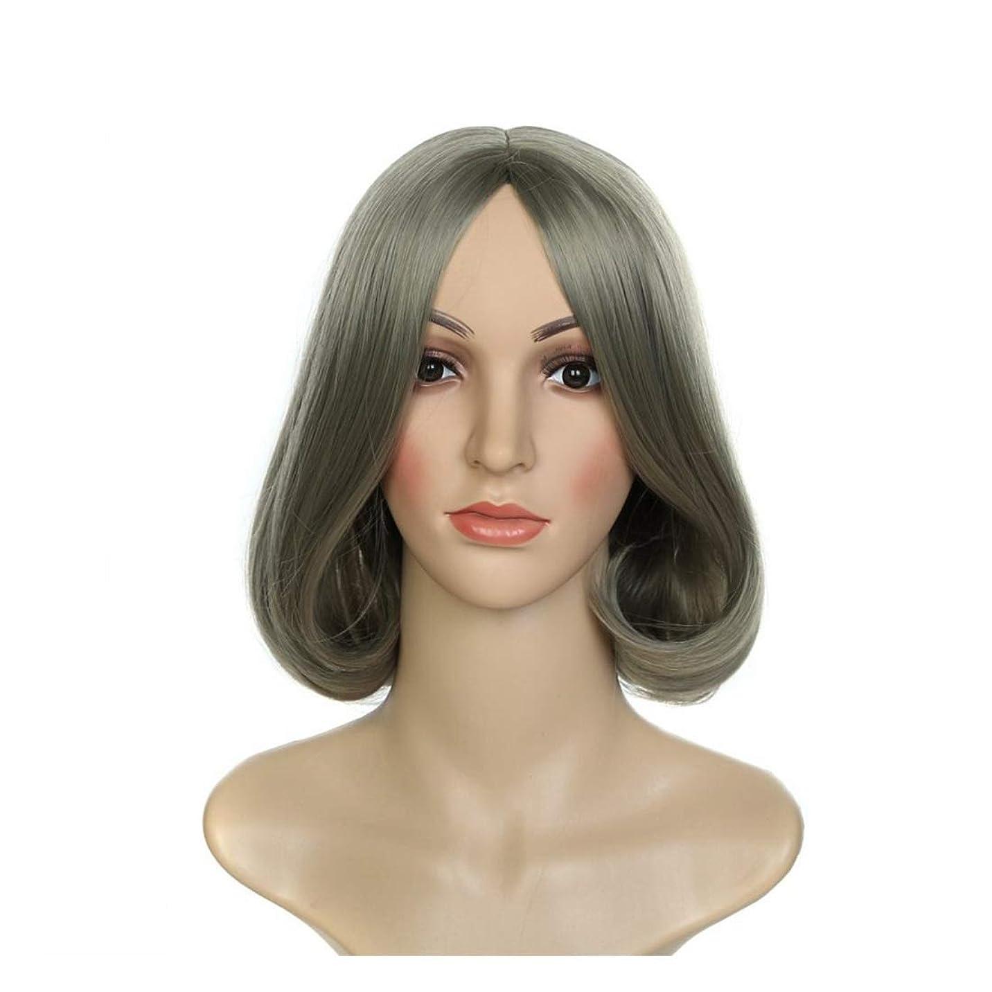 フレッシュ世界的に高層ビルJIANFU ウィッグウィッグウィッグコスプレウィッグショートヘアファッションレディースウィッグ (Color : Photo Color)