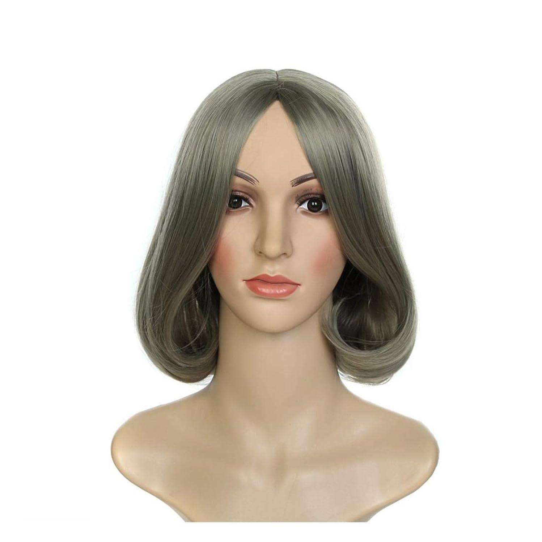 ポルノ海洋の郡Koloeplf ウィッグウィッグウィッグコスプレウィッグショートヘアファッションレディースウィッグ (Color : Photo Color)