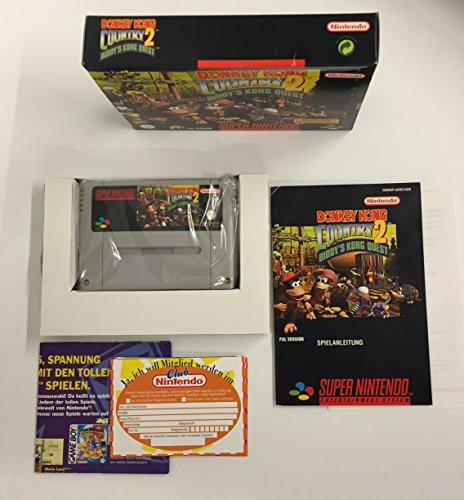 Donkey Kong Country 2: Diddy's Kong Quest [Edizione : Germania]