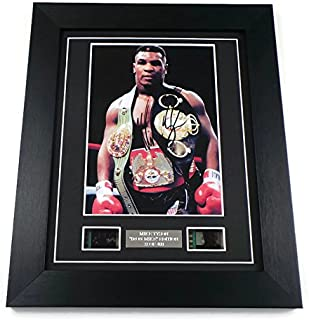 artcandi Mike Tyson Signed + Original Tyson Film Footage Framed