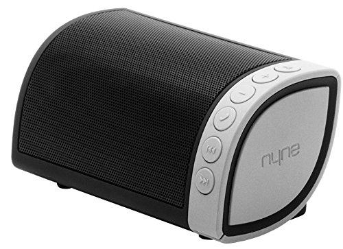 Nyne Cruiser - Altavoz inalámbrico, color negro y plateado