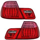 Eagle Eyes LED Faros traseros Juego en color rojo–Faros traseros para faros traseros para