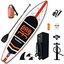 "FunWater Inflatable Stand Up Paddle Boards 11'×33""×6"" Ultra-Light (17.6lbs) SUP for All Skill Levels Everything Included w..."
