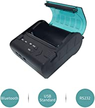 Mini Thermal Bluetooth Receipt Printer, Portable Personal Bill Wireless Printer 79 mm High Speed USB POS Printer for Restaurant Sales Retail Compatible with Android/iOS/PC/Windows/Linux