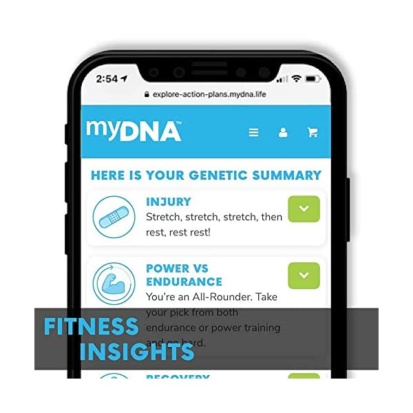 fitness nutrition myDNA Nutrition, Fitness & Caffeine DNA Test – Stay Active & Healthy