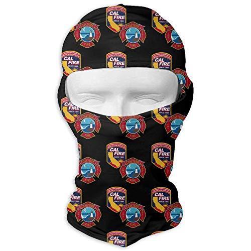 Vidmkeo Coastside Fire Department and Cal FIRE Duel Logo Unisex Face Mask Dust Sun UV Protection Sun Mask Fashion11