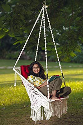 home swing chair with cushion