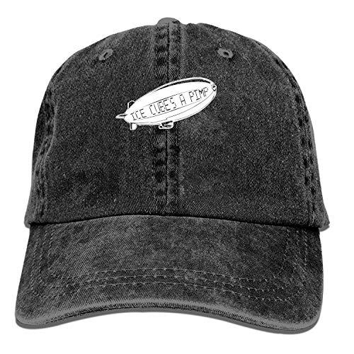 LUXNG Baseball Cap-Ice Cube'S Een Pimp Cowboy Hoeden voor Heren Vrouwen Pa, Sport Baseball Caps