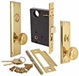 Marks Hardware 91A-LH Marks Mortise Lock, Left Hand, 4.2' x 10.9' x 4.5'