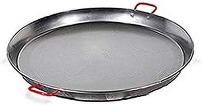 Garcima 10-Inch Carbon Steel Paella Pan, 26cm, Small, Silver