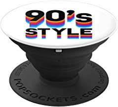 1990's Style Retro design PopSockets Grip and Stand for Phones and Tablets