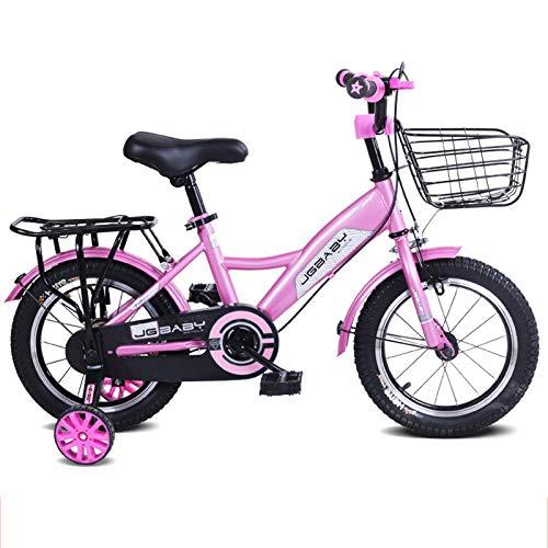 Bicicleta Deportiva BMX para Niños, Elegantes Bicicletas para Niños Y Niñas con Freno De Disco Doble para Ruedas De Entrenamiento De 12-14-16-18 Pulgadas,18'